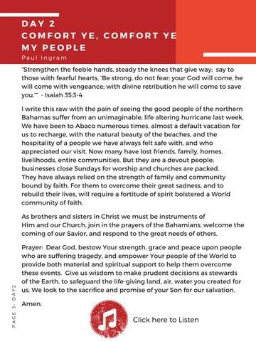 Page 6 of Day 2 | Comfort Ye, Comfort Ye My People
