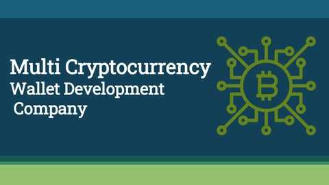 cryptocurrency wallet development companies