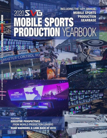 2020 Svg Mobile Production Yearbook By Sports Video Group Issuu
