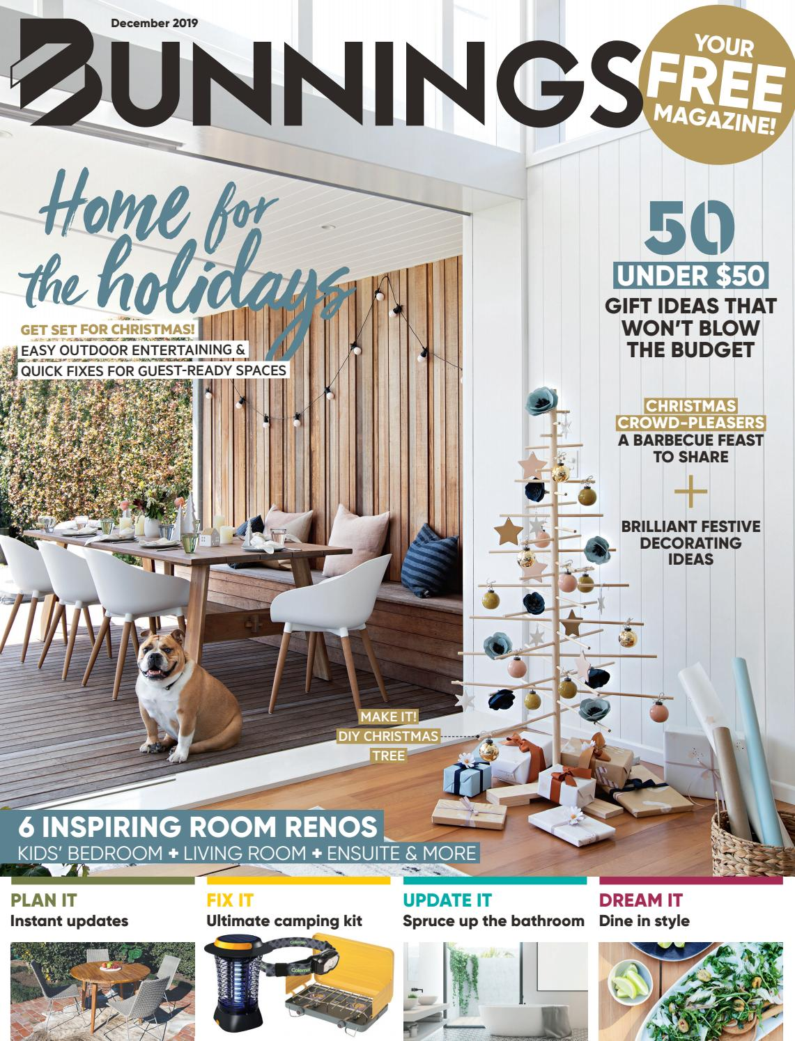 Picture of: Bunnings Magazine December 2019 By Bunnings Issuu