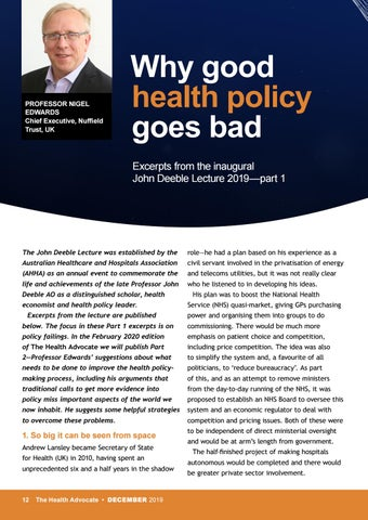 Page 12 of Why good health policy goes bad
