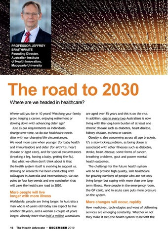 Page 16 of The road to 2030