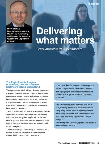 Page 19 of Delivering what matters