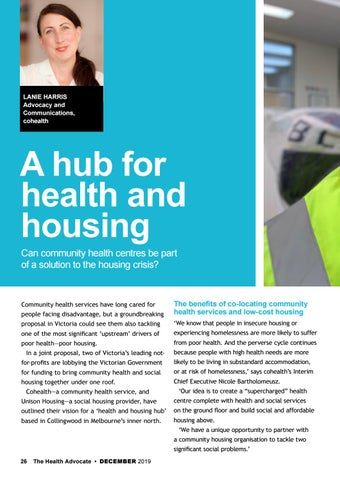 Page 26 of A hub for health and housing