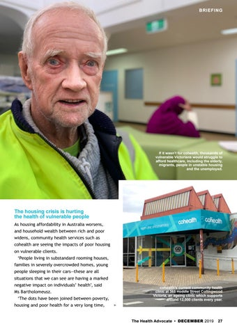 Page 27 of A hub for health and housing