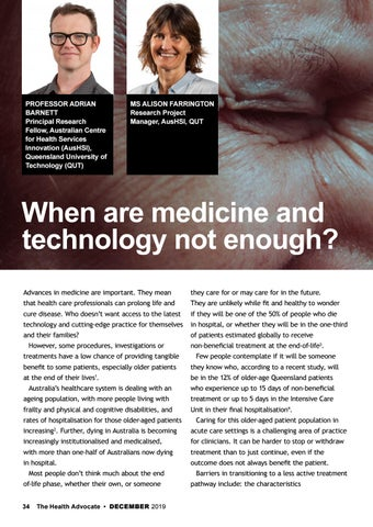 Page 34 of When are medicine and technology not enough?