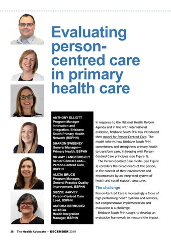 Page 36 of Evaluating personcentred care in primary health care