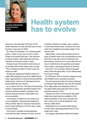 Page 4 of Health system has to evolve