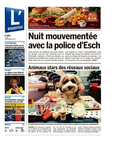 L'essentiel epaper 2019 12 09 by L'essentiel issuu