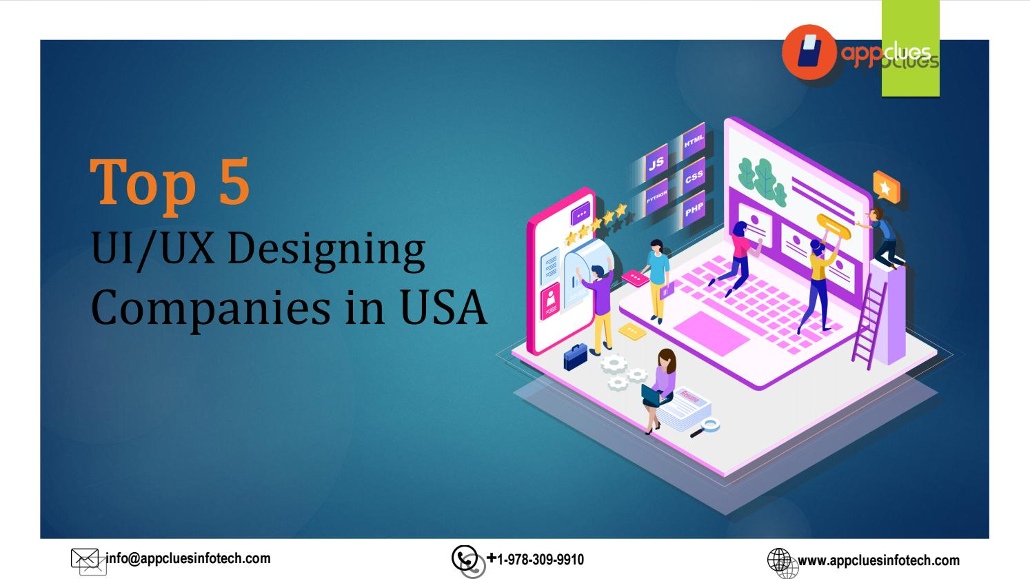 Top 5 Ui Ux Designing Companies In Usa By Appclues Infotech Issuu