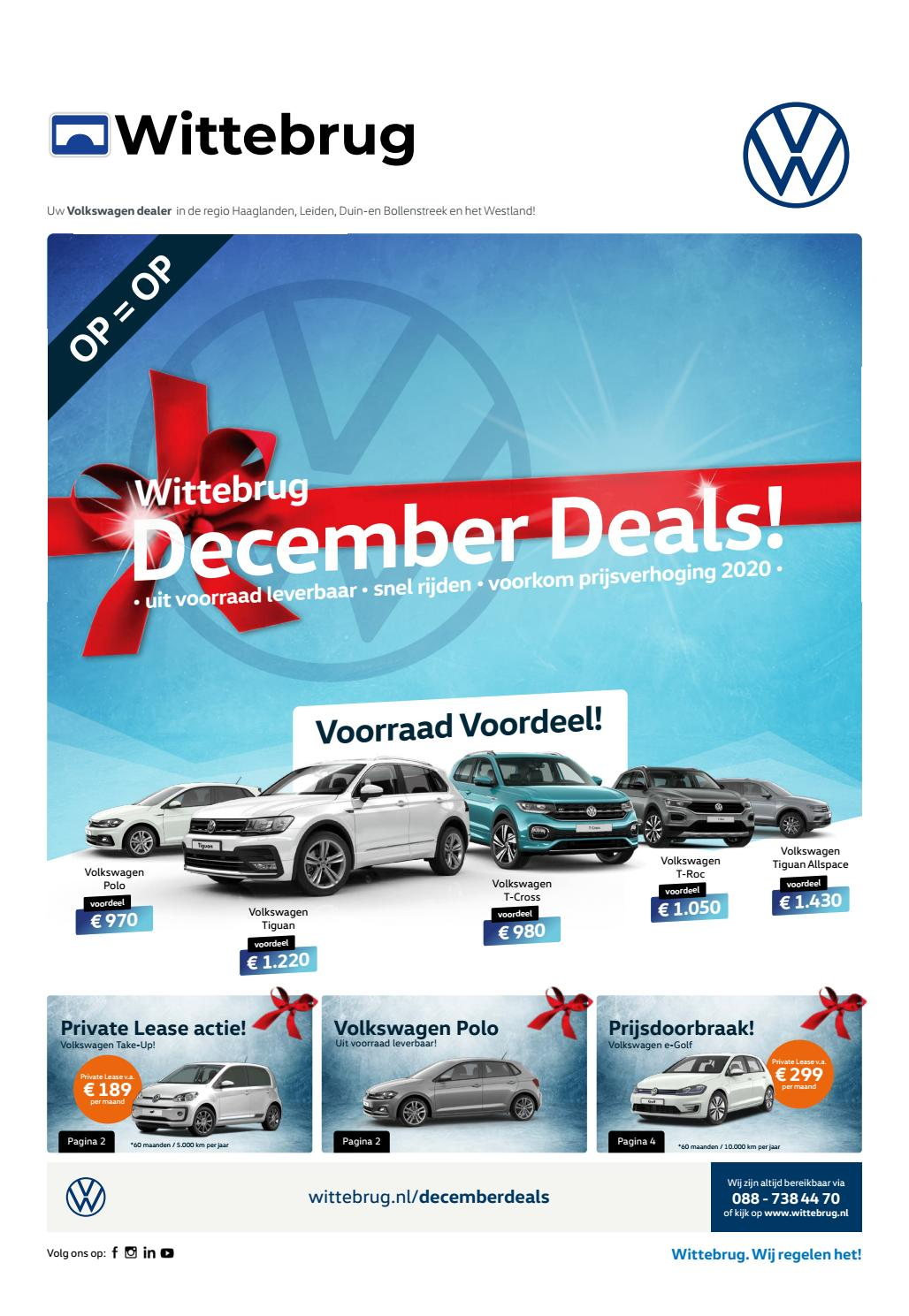 Wittebrug December Deals Krant By Deal Development Issuu