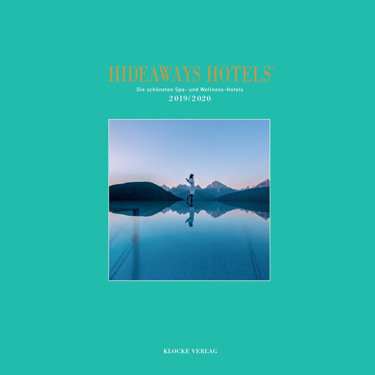 Hideaways Hotels Spa Guide 2019/2020 by Klocke Verlag - issuu
