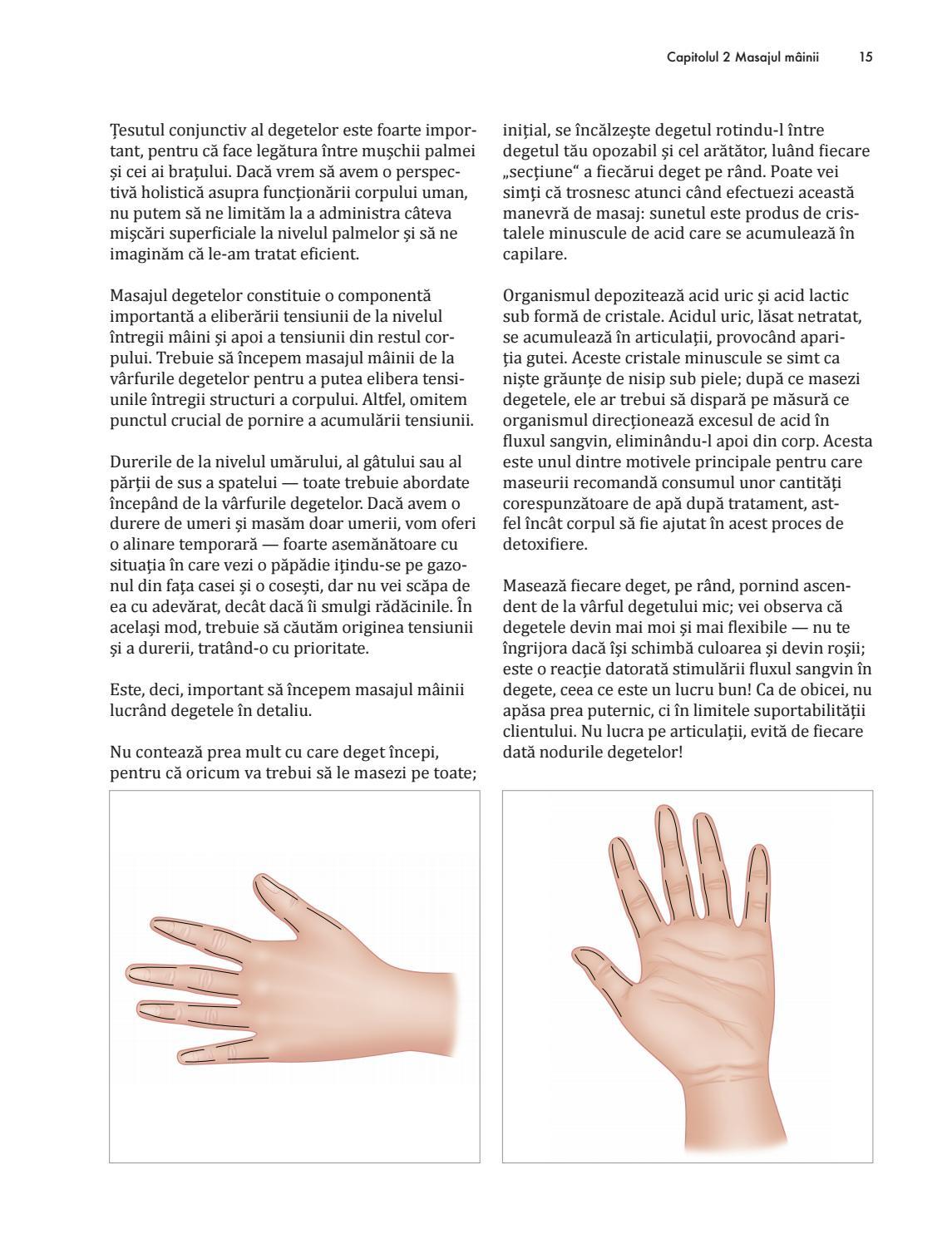 articulații pe degetul mare)