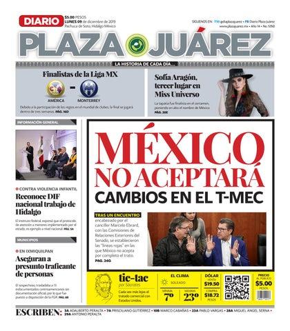09 12 19 by Diario Plaza Juárez issuu