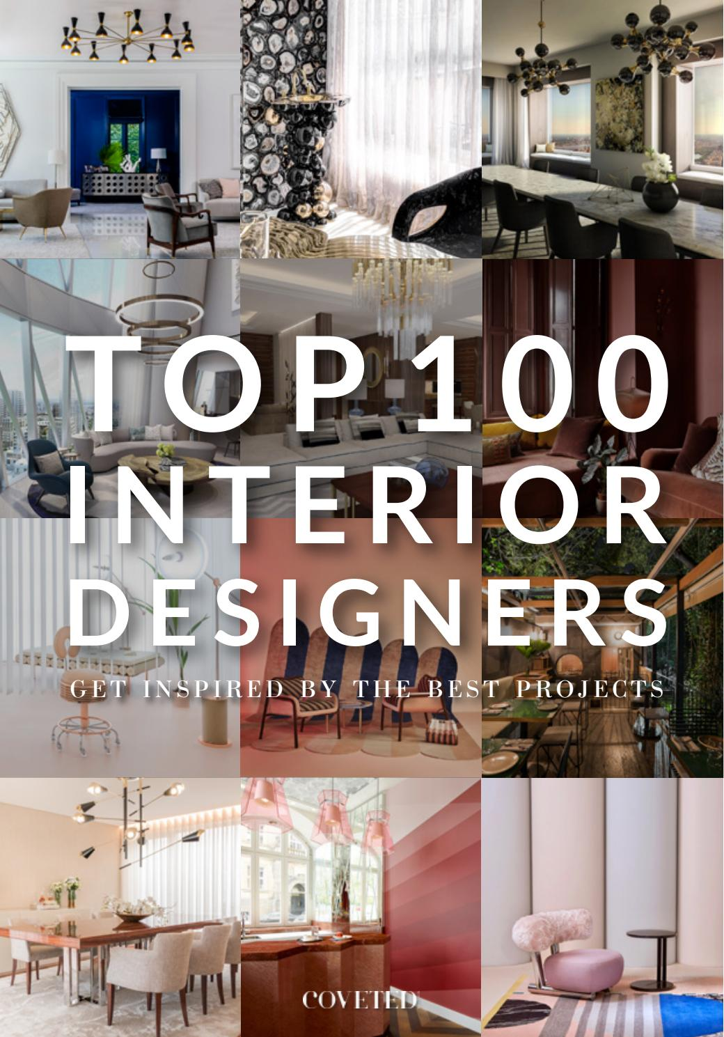 Top 100 Interior Designers And Architects Of 2019 By Trend Design Book Issuu