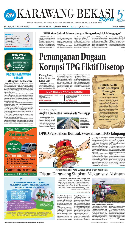 Karawang Bekasi Ekspres 10 Desember 2019 By Karawang Bekasi