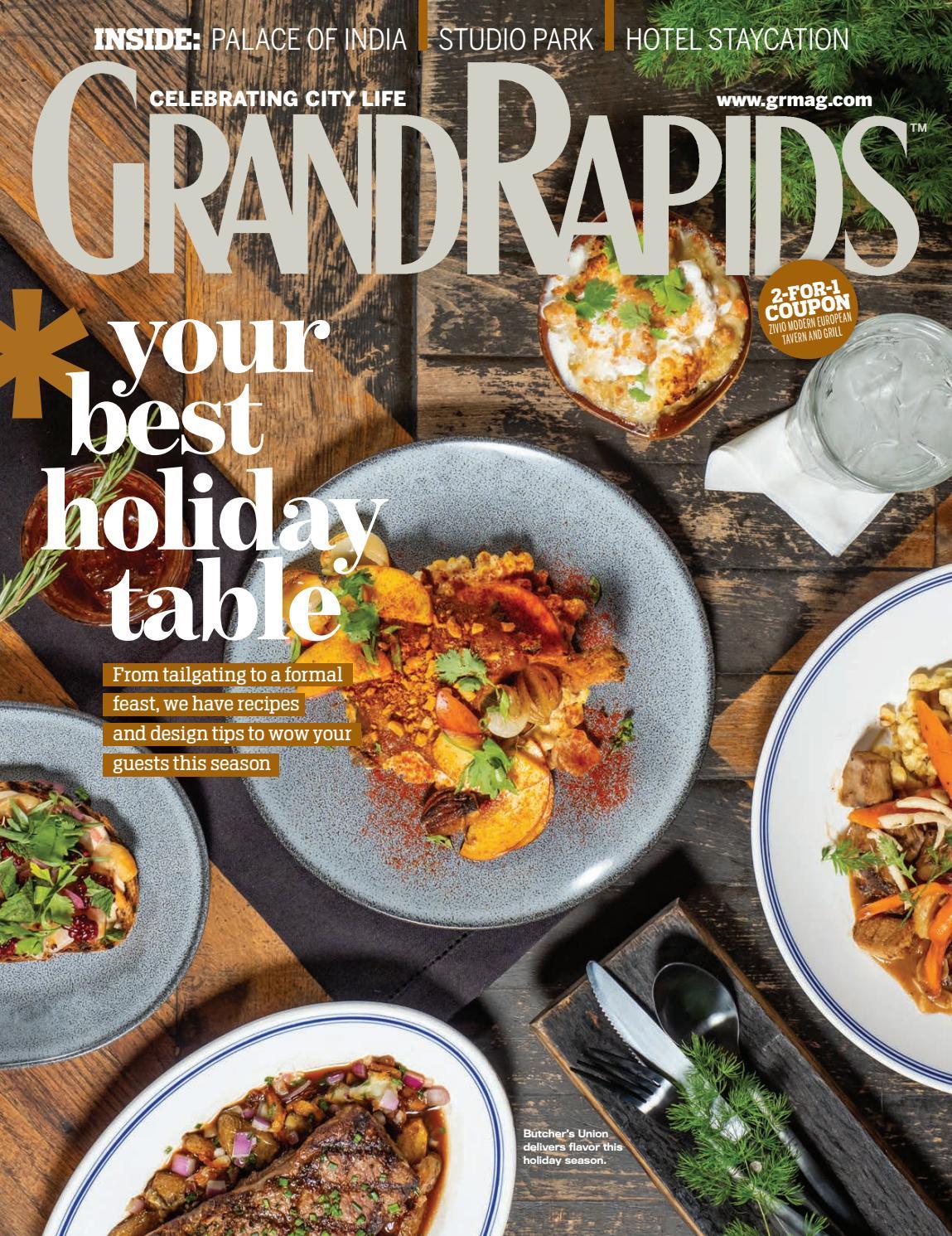 Harmony Cuisine Saint Julien grand rapids magazine - november 2019grand rapids