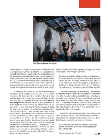 Page 15 of El Imaginario de la Ausencia: La cultura como arma política en las obras de Yael Martínez y Sara Uribe