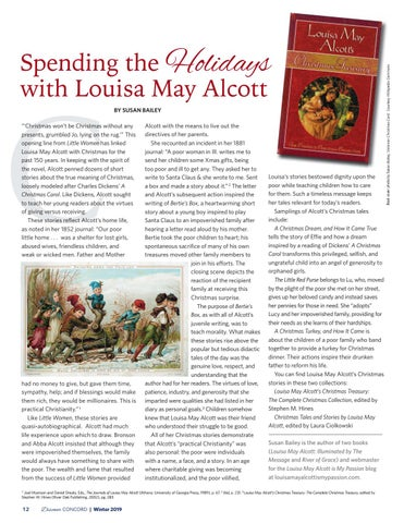 Page 14 of Spending the Holidays with Louisa May Alcott
