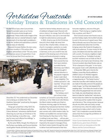 Page 20 of Forbidden Fruitcake: Holiday Treats & Traditions in Old Concord