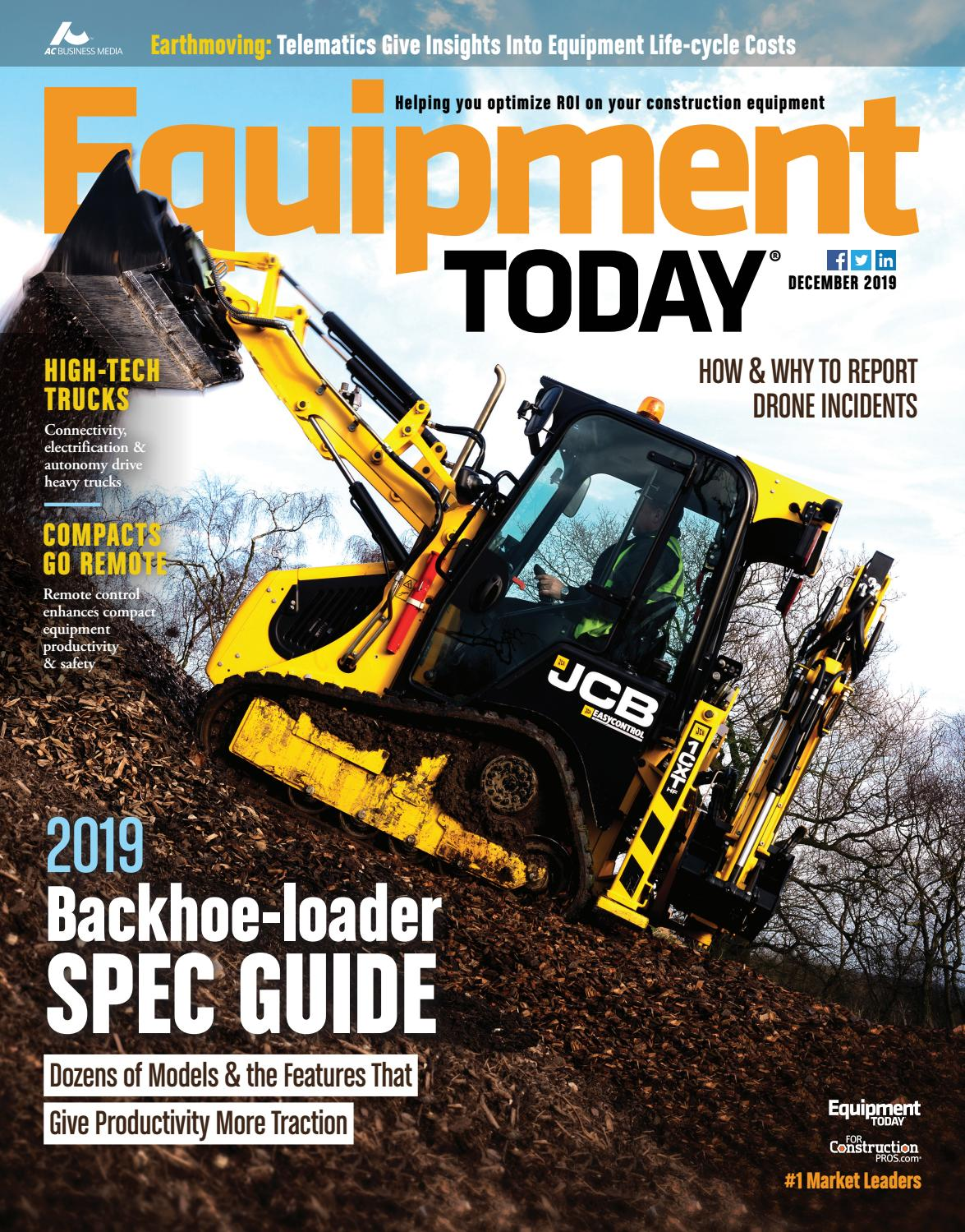Equipment Today December 2019 By Forconstructionpros Com Issuu