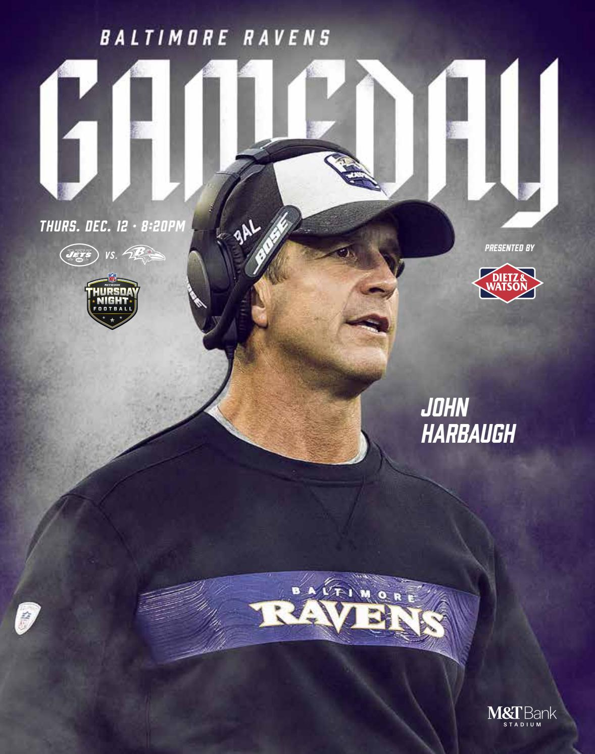 Week 15 New York Jets Vs Baltimore Ravens By Baltimore Ravens Issuu