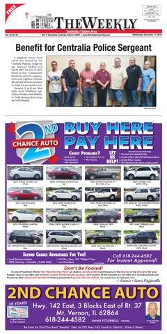 Mt Vernon Car Dealerships >> 12 11 2019 Centralia Shoppers Weekly By Scott Pinkowski Issuu