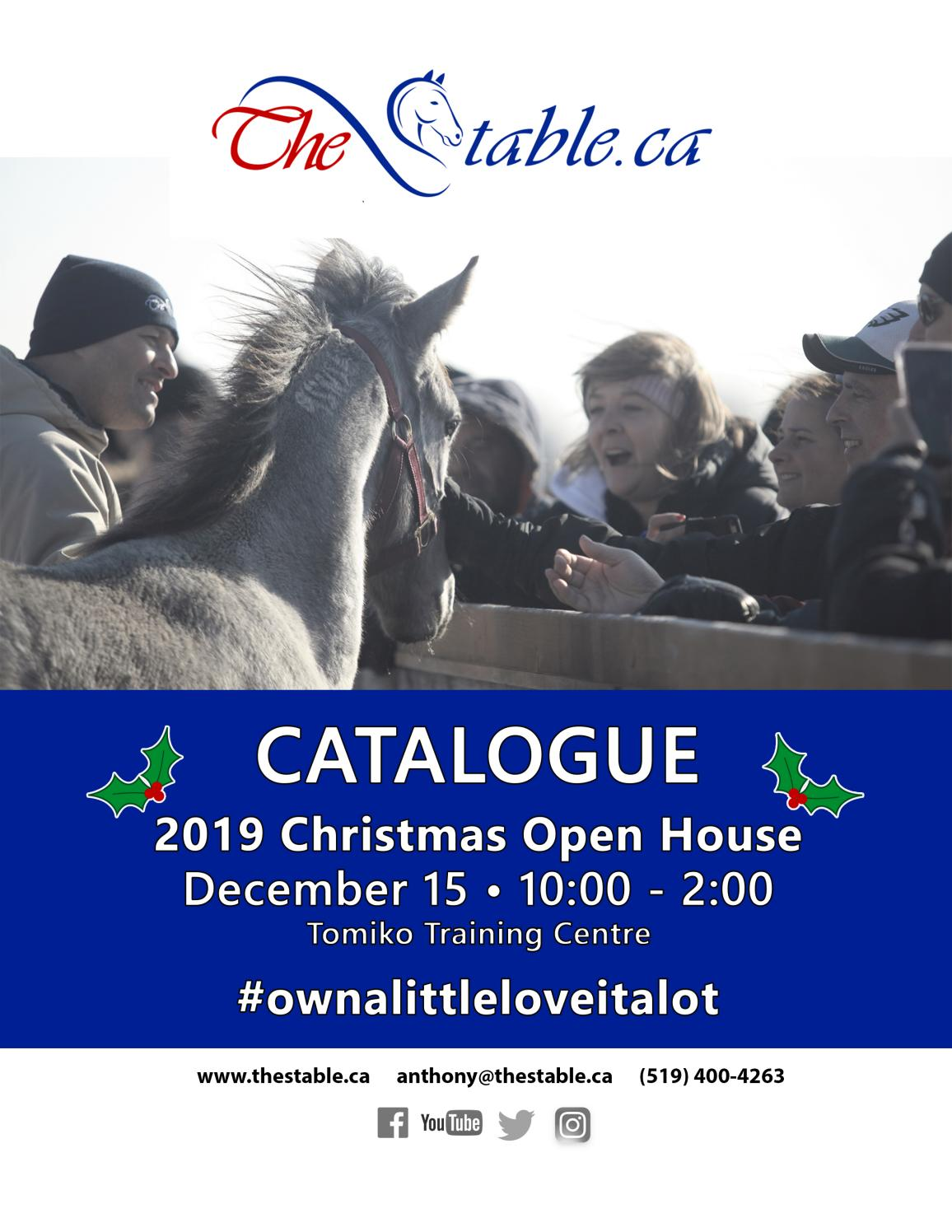 Catalogue Thestable Ca Christmas Open House 2019 By Thestable Ca