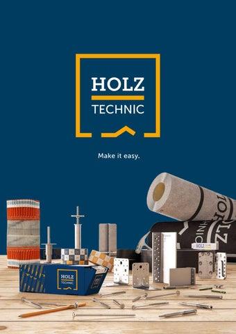 CATALOGO HOLZ TECHNIC 2019 - DE - FR by Rothoblaas - issuu