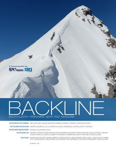 BACKLINE Skitouren Ausruestung Test Magazin 2019 #01 by