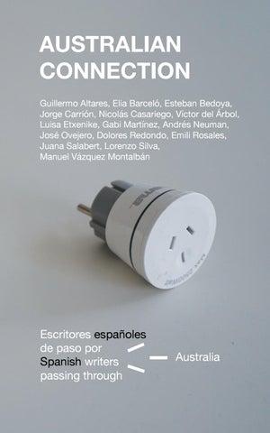 Australian Connection Escritores Españoles De Paso Por Australia By Aecid Publicaciones Issuu