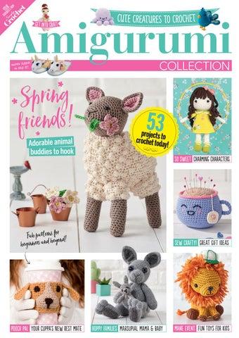 Cuddly Amigurumi Toys: 15 New Crochet Projects by Lilleliis ...   452x320