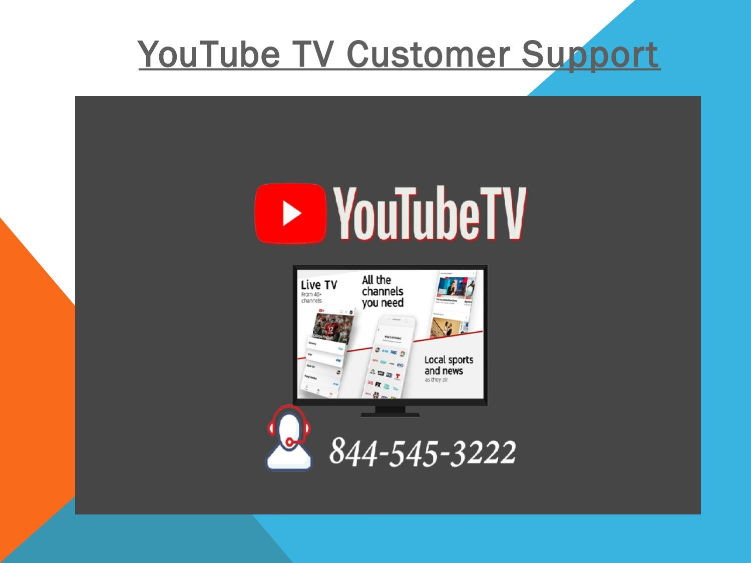 +1 844-545-3222 YouTube TV Customer Support