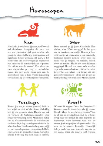 Page 25 of Horoscopen