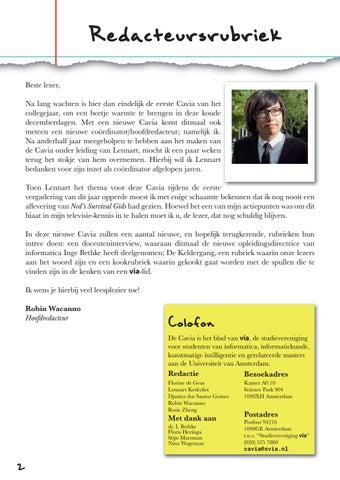 Page 2 of Redacteursrubriek