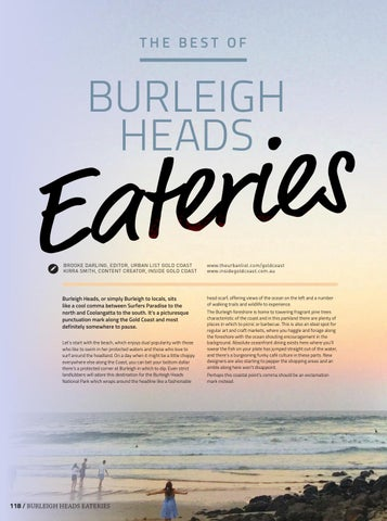 Page 120 of BURLEIGH HEADS Eateries