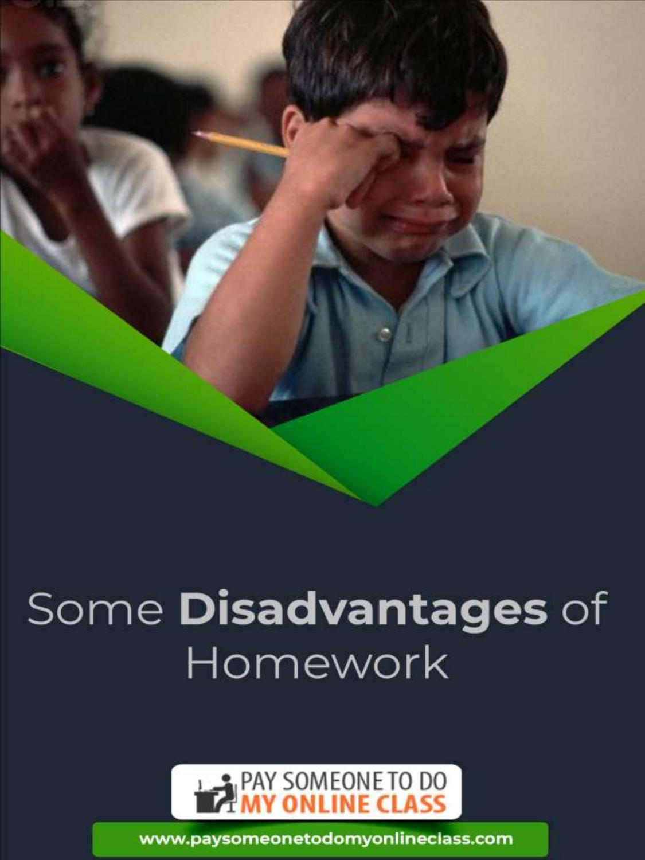 Homework disadvantages expository essays vs business communication