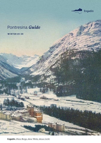 Engadin Guide Winter 201920 Pontresina By Engadin St