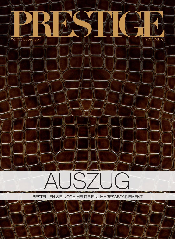 PRESTIGE Switzerland Volume 53 Auszug by rundschauMEDIEN AG
