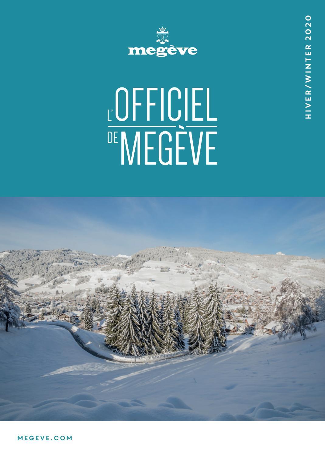 L'Officiel de Megève HIVER by Megève (officiel) issuu