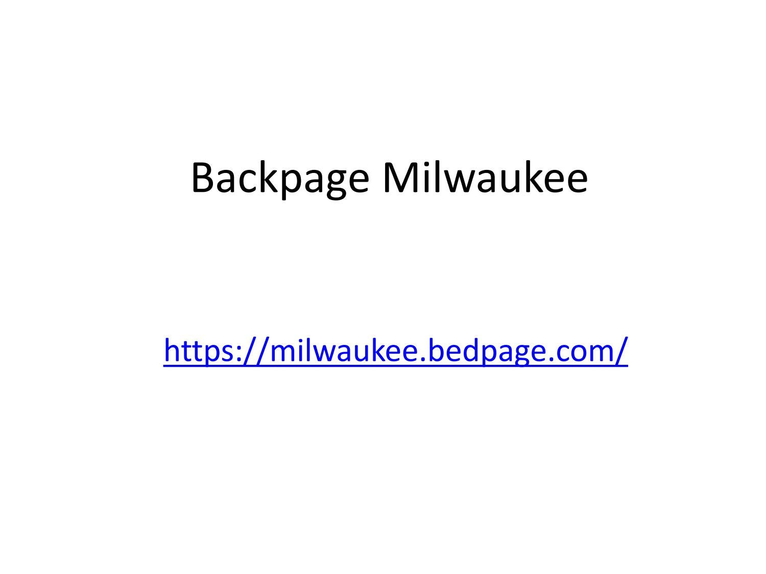 Com www milwaukee backpage BackPageLocals