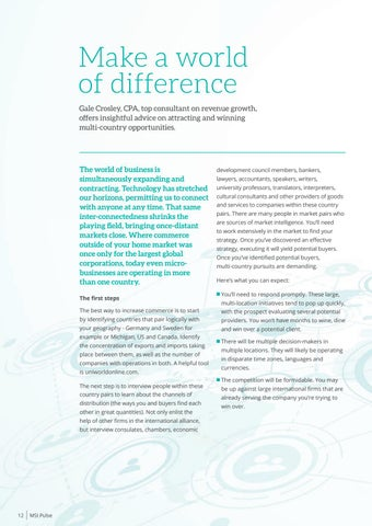 Page 14 of Make a world of difference