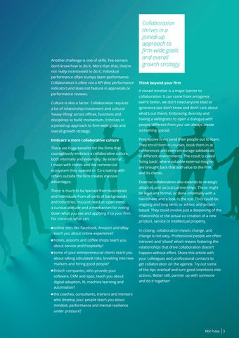 Page 5 of Collaboration - The missing link for competitive advantage?