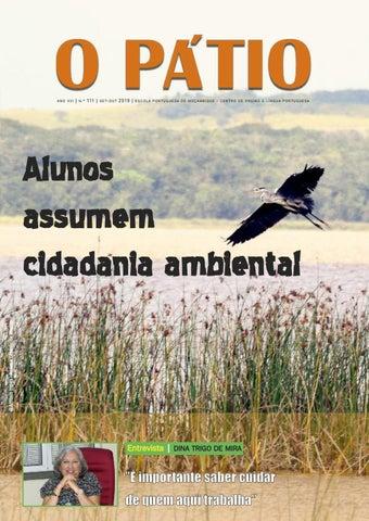 O Pátio Edição 111 By Escola Portuguesa De Moçambique