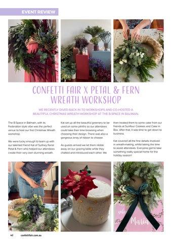 Page 42 of CONFETTI FAIR X Petal & Fern Wreath Workshop