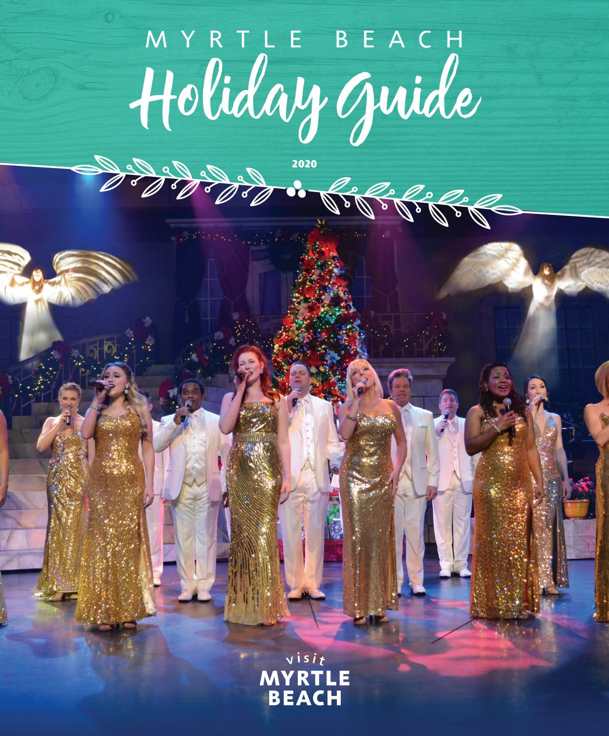 Christmas Events Around Myrtle Beach 2020 2020 Myrtle Beach Holiday Guide by The Group Travel Leader, Inc