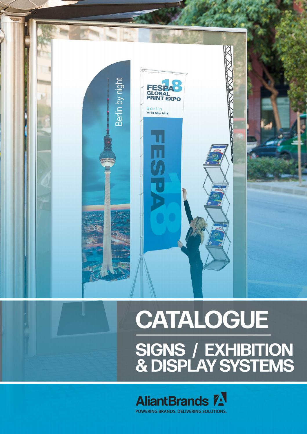 Aliant Signs Displays Catalogue 2020 By Aliant Brands Issuu