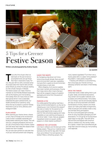 Page 18 of 5 Tips for a Greener Festive Season