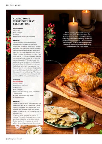 Page 20 of Keeping It Traditional: Classic Roast Turkey with Tray Bake Stuffing