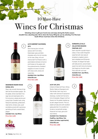 Page 32 of 10 Must-Have Wines for Christmas